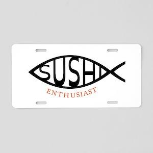 Enthusiast Aluminum License Plate