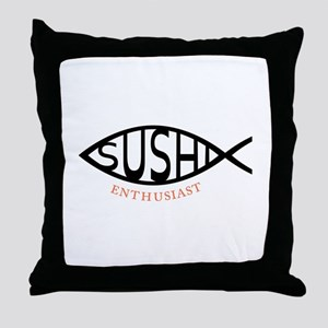Enthusiast Throw Pillow