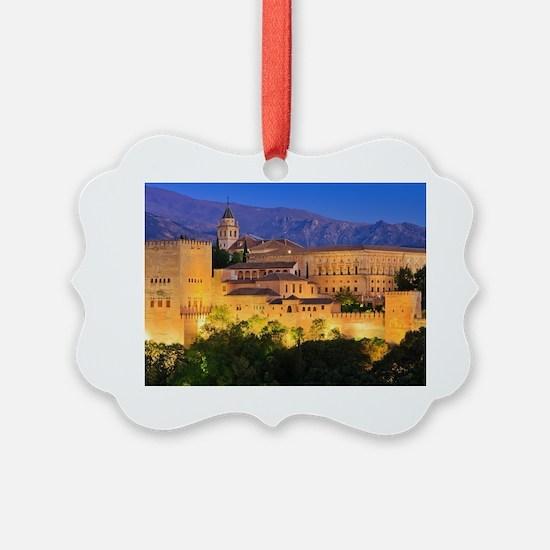 Alhambra palace, Granada, Spain Ornament