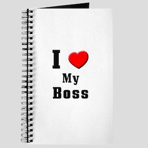 I Love Boss Journal