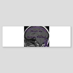 Demon Peanut Bumper Sticker