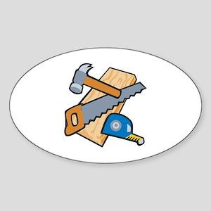 Carpenter Tools Sticker