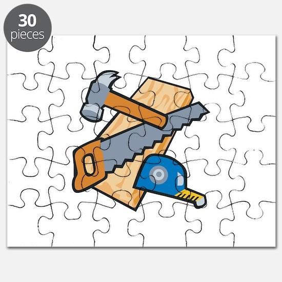Carpenter Tools Puzzle