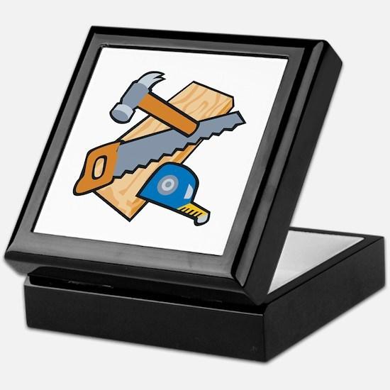 Carpenter Tools Keepsake Box