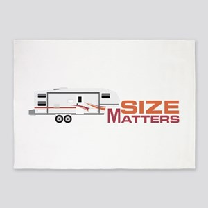 Size Matters 5'x7'Area Rug