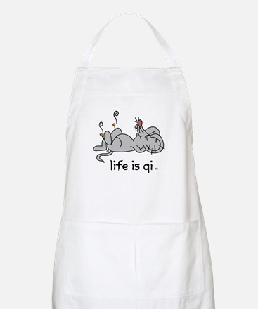 Life is Qi Mouse Acupuncture Moxa Apron