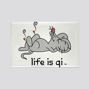 Life is Qi Mouse Acupuncture Moxa Magnets