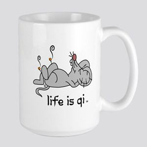 Life is Qi Mouse Acupuncture Moxa Mugs