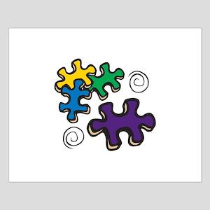 Jigsaw Swirls Posters