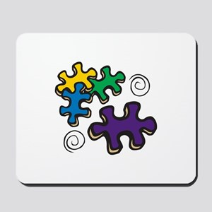 Jigsaw Swirls Mousepad