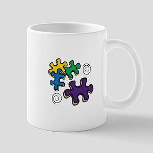 Jigsaw Swirls Mugs