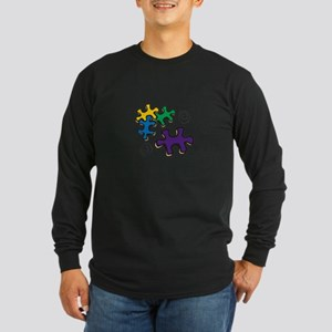 Jigsaw Swirls Long Sleeve T-Shirt