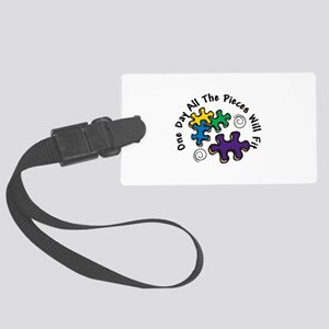 All the Pieces Luggage Tag
