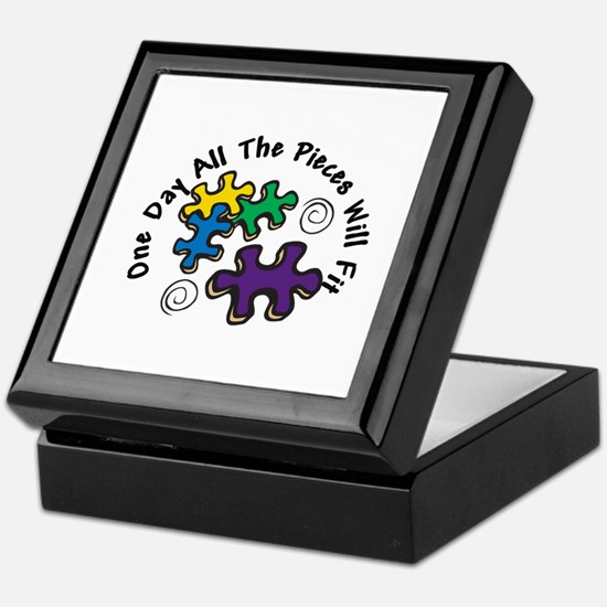 All the Pieces Keepsake Box