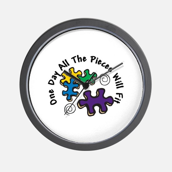All the Pieces Wall Clock