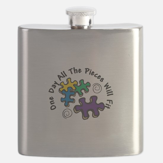 All the Pieces Flask