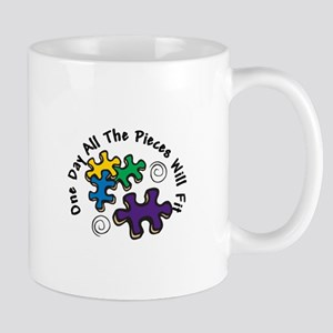 All the Pieces Mugs