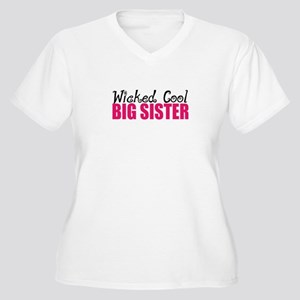 Wicked Cool Big Sister Plus Size T-Shirt
