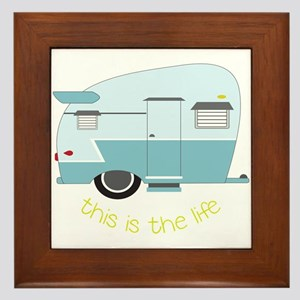 This Is The Life Framed Tile