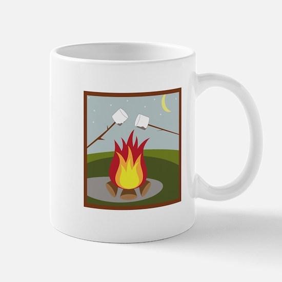 Roasting Marshmallows Mugs