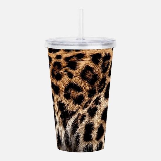Leopard Acrylic Double-wall Tumbler