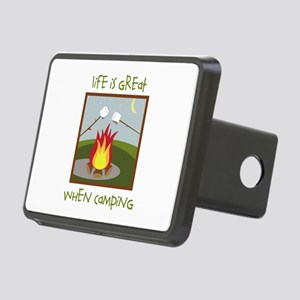 Life Is Great When Camping Hitch Cover