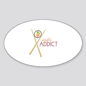Sushi Addict Sticker