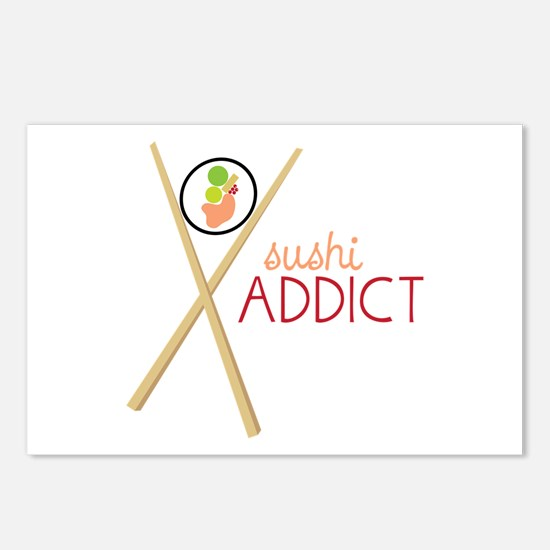 Sushi Addict Postcards (Package of 8)