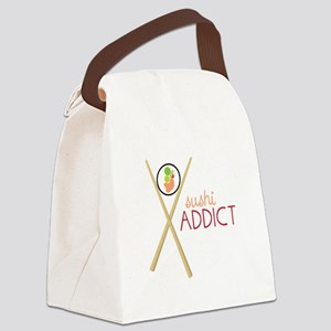 Sushi Addict Canvas Lunch Bag