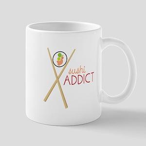 Sushi Addict Mugs
