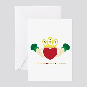 Friendship*Love*Loyalty Greeting Cards