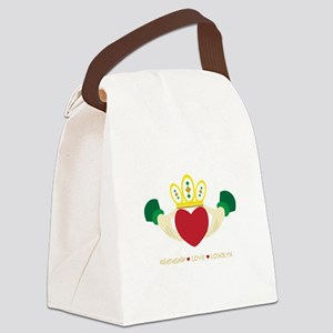 Friendship*Love*Loyalty Canvas Lunch Bag