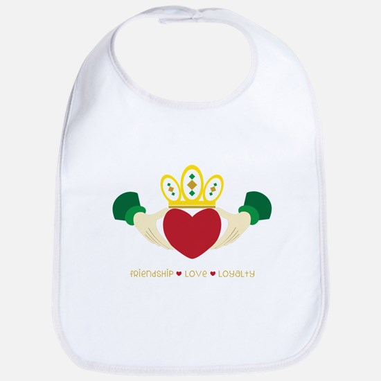 Friendship*Love*Loyalty Bib