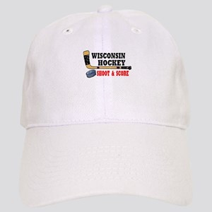 Wisconsin Hockey Cap