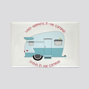 Stays In The Camper Magnets