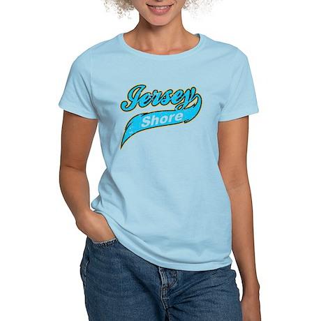Jersey Shore Disstressed Women's Light T-Shirt