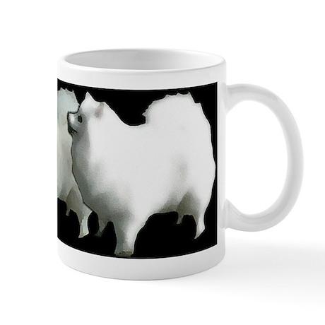 """""""American Eskimo"""" Mug"""