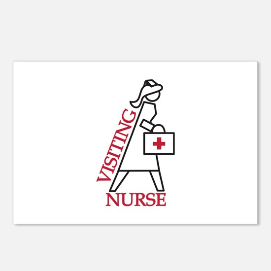 Visiting Nurse Postcards (Package of 8)
