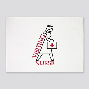 Visiting Nurse 5'x7'Area Rug