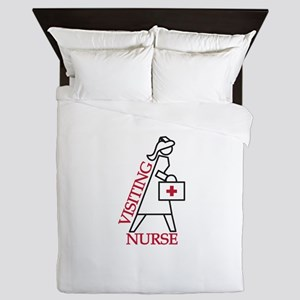 Visiting Nurse Queen Duvet