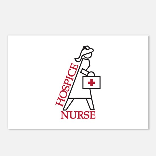 Hospice Nurse Postcards (Package of 8)