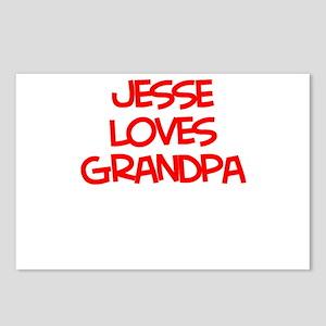 Jesse Loves Grandpa Postcards (Package of 8)
