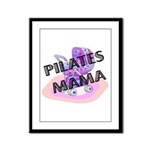 Pilates Mama Framed Panel Print