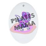 Pilates Mama Oval Ornament
