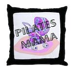 Pilates Mama Throw Pillow