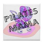 Pilates Mama Tile Coaster