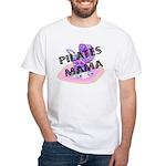 Pilates Mama White T-shirt