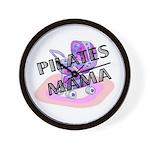 Pilates Mama Wall Clock