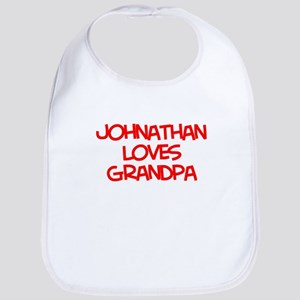 Johnathan Loves Grandpa Bib