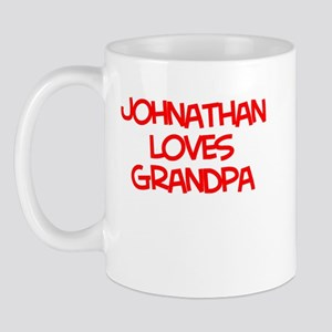 Johnathan Loves Grandpa Mug